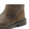 Click S3 Pur Rigger Boot Brown