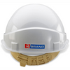 Comfort Vented Safety Helmet White