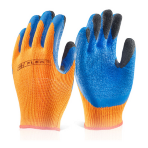 Latex Thermo-star Fully Dipped Glove Orange