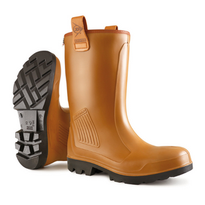 Purofort Rigair Unlined Full Safety Rigger Boot Tan