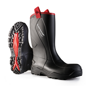 Purofort+rugged Full Safety Rigger Boot Black