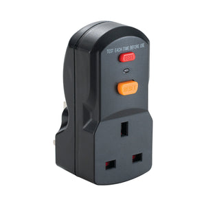 13A RCD Plug and Socket Adaptor 240V