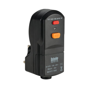 13A Wireable RCD Plug 240V
