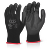 PU Coated Glove Black