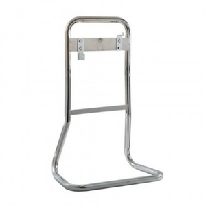 Firechief Tubular Double Stand - Chrome