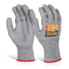 Glovezilla Pu Palm Coated Glove Grey