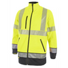 Hivis Two Tone Softshell Saturn Yellow / Navy