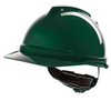 V-gard 500 Vented Safety Helmet Green