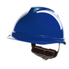 V-gard 520 Peakless Safety Helmet Blue