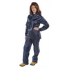 Nylon B-dri Weatherproof Suit Navy Blue
