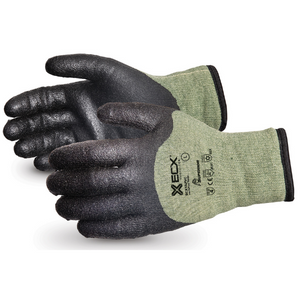 Emerald Cxå¨ KevlarÌ_Ìâ/steel Winter Glove With Pvc Palm Black