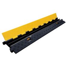 Load image into Gallery viewer, Heavy Duty Cable Protector 2 channel - Tidi-Cable Products