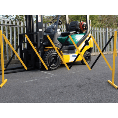 Expandable Temporary Scissor Barrier 2.7m - Tidi-Cable Products