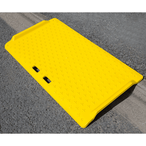 Kerb Ramp Yellow 1180x700mm 250g - Tidi-Cable Products