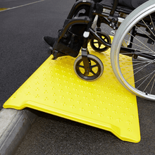 Load image into Gallery viewer, Kerb Ramp Yellow 1180x700mm 250g - Tidi-Cable Products