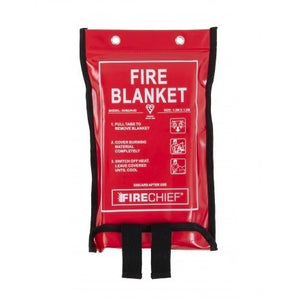 Firechief 1 x 1m Fire Blanket, Soft Case