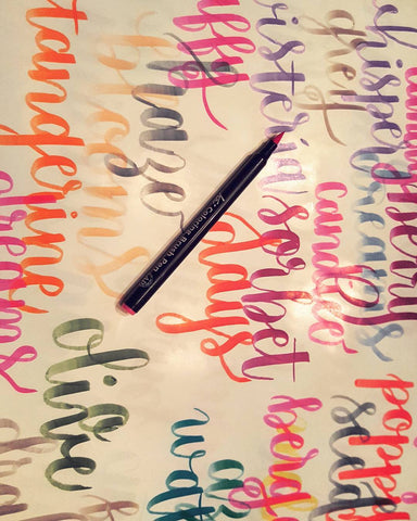 Brush Lettering Basics Workshop (December 18 / 20/ 22 )