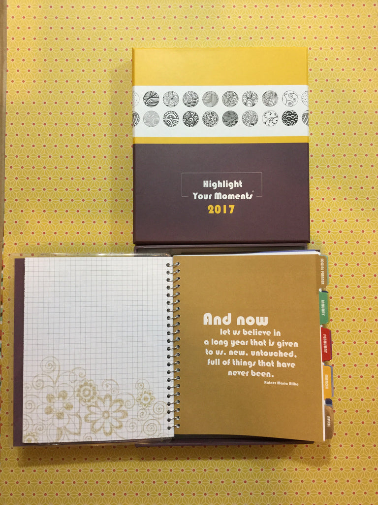 Highlight Your Moments 2017 Planner