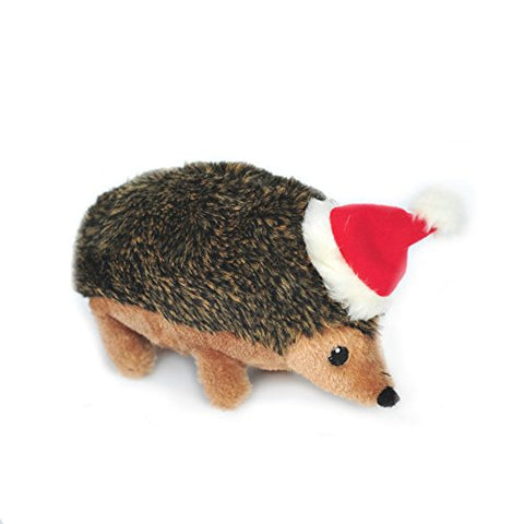 Hedgehog Plush Squeaky Dog Toy