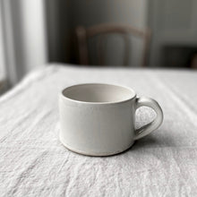 Load image into Gallery viewer, handmade white mug
