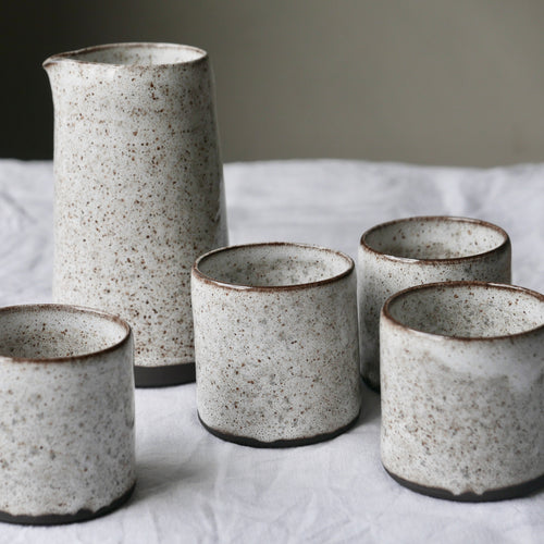 small speckled tumbler