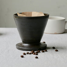 Load image into Gallery viewer, graphite ceramic coffee filter