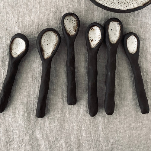 simple rustic salt spoon