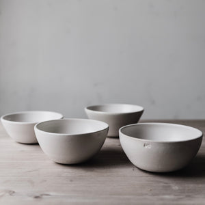 simple white bowl