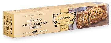 CAREME PASTRY - ALL BUTTER PUFF PASTRY SHEETS