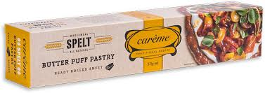 CAREME PASTRY - SPELT BUTTER PUFF PASTRY SHEETS