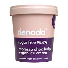 DENADA - ESPRESSO (SUGAR FREE) ICE CREAM