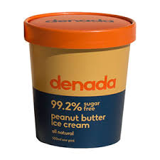 DENADA - PEANUT BUTTER (SUGAR FREE) ICE CREAM