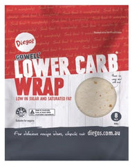 GO WELL - LOWER CARB WRAPS