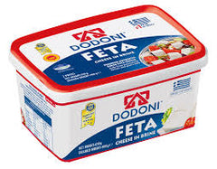 DODONI - FETA TUB IN BRINE 630G