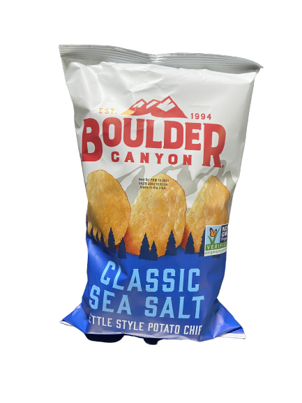 BOULDER - CLASSIC SEA SALT POTATO CHIPS