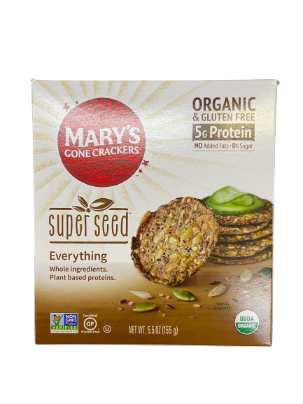 MARY'S GONE CRACKERS - SUPER SEED EVERYTHING