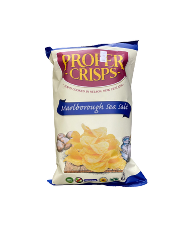 PROPER CRISPS - MARLBOROUGH SEA SALT CHIPS