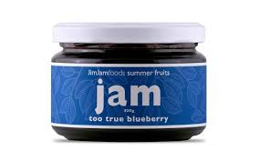 JIM JAMS - TOO TRUE BLUEBERRY JAM