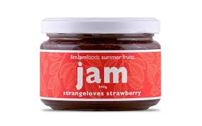 JIM JAMS - STRANGELOVES STRAWBERRY JAM
