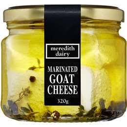 MEREDITH DAIRY - MARINATED GOATS CHEESE JAR