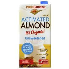 PURE HARVEST - UNSWEETEND ALMOND MILK 1L