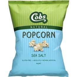 COBS - SEA SALT POPCORN