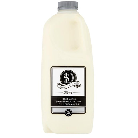 ST DAVID'S DAIRY - NON HOMOGENISED MILK 2L