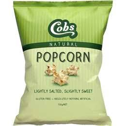 COBS - LIGHTLY SALTED & SLIGHTLY SWEET POPCORN