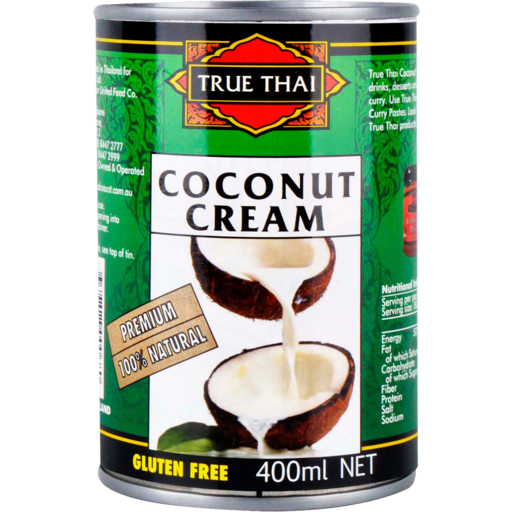 TRUE THAI - COCONUT CREAM 400ML