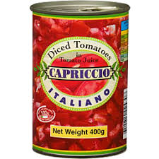 CRUSHED CANNED TOMATOES