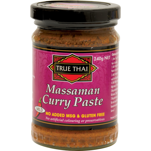 TRUE THAI - MASSAMAN CURRY PASTE