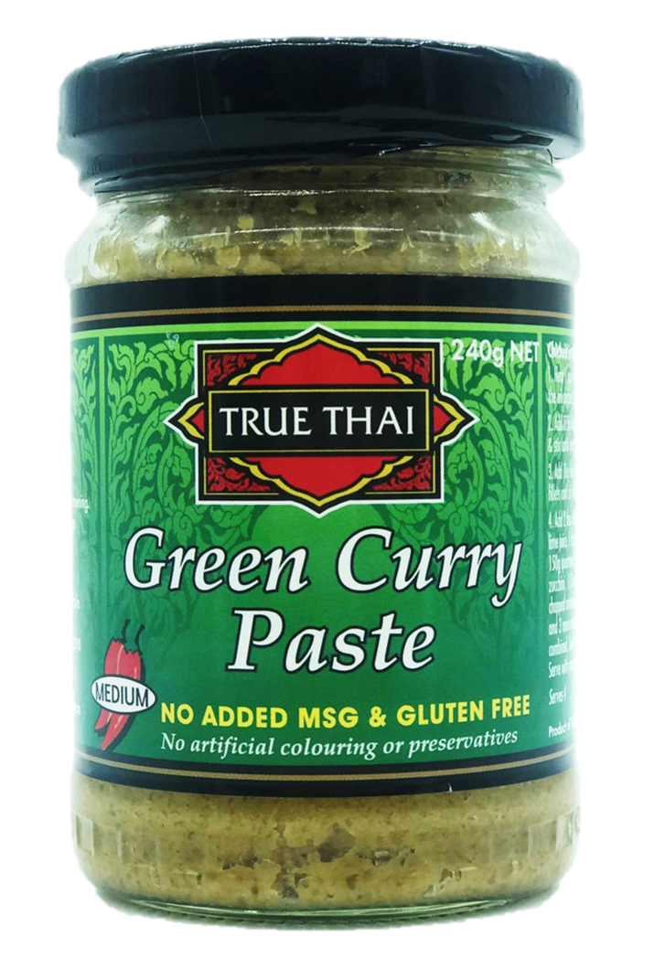 TRUE THAI - GREEN CURRY PASTE