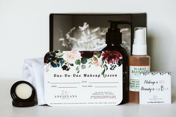 One-On-One Makeup Lesson Holiday Gift Box