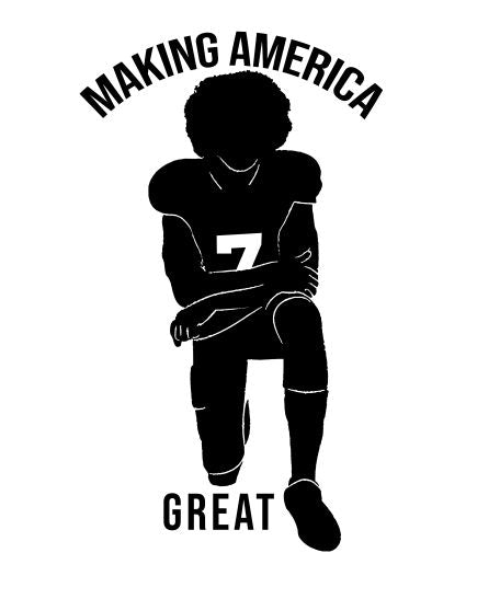 Making America Great - Since 1619-Athlete